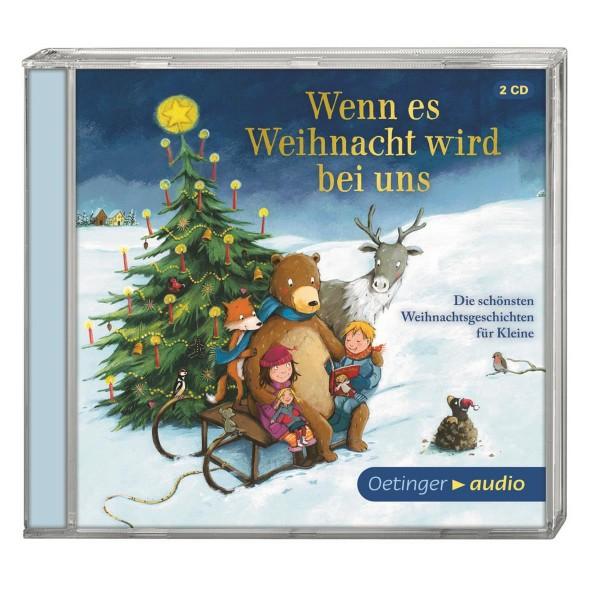 Kinder-CD Wenn es Weihnachten wird bei uns (2 CD)