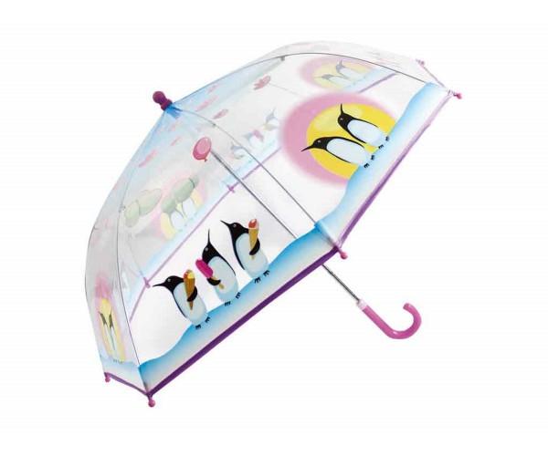 Kinder Regenschirm Pinguine