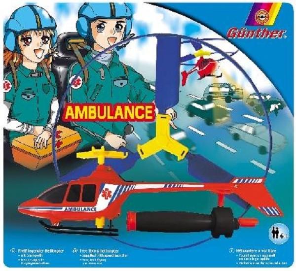 GÜNTHER AMBULANCE Schnellstarter Helikopter