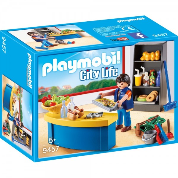 Playmobil® City Life Hausmeister mit Kiosk 9457