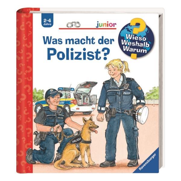 Ravensburger Kinder Buch Wieso Weshalb Warum? Junior Was macht der Polizist?