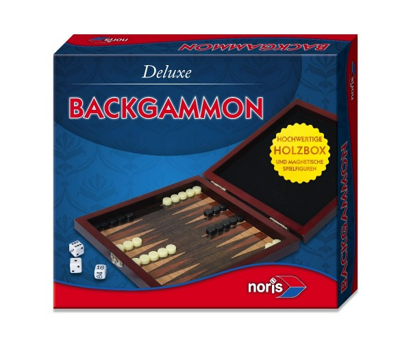 noris Deluxe Reisespiel Backgammon