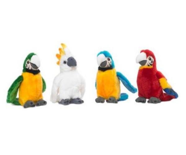 WWF Plüschfigur Tropischer Vogel mit Sound