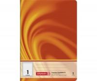 Schulheft A5 liniert Lineatur 1 (16 Blatt)