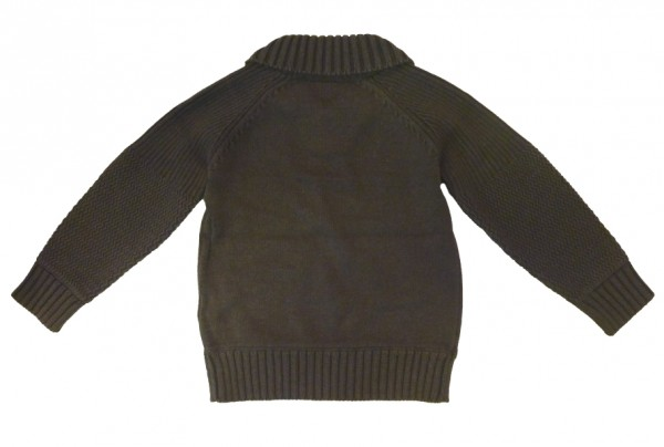 MEXX Jungen Kinder Pullover new dark grey heather Gr. 98 - 152