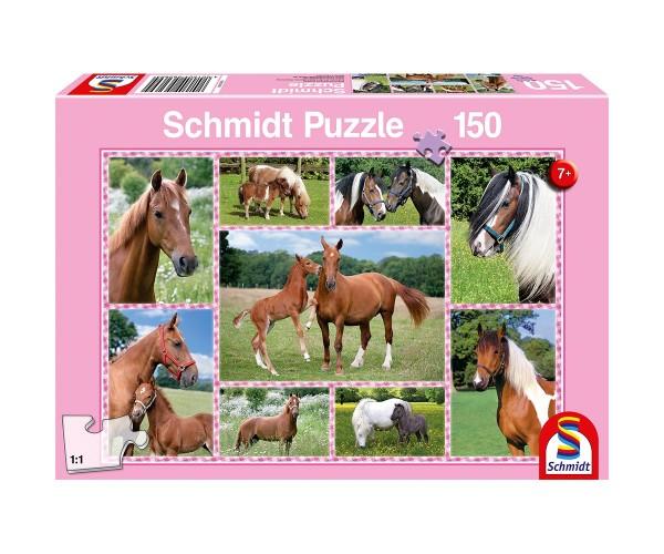 Schmidt Puzzle 150 Teile Pferdeträume