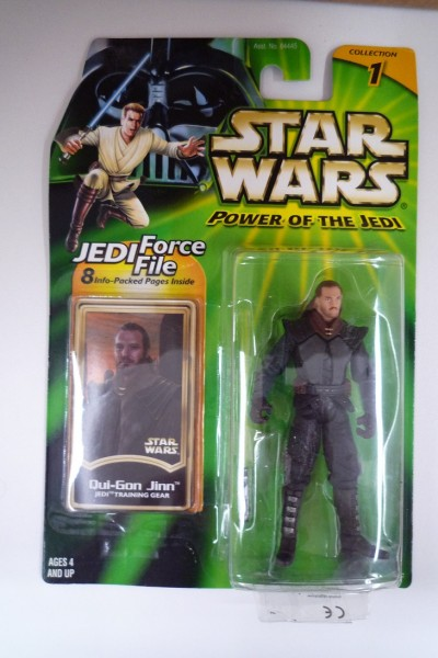 HASBRO Star Wars Qui-Gon Jinn in Jedi Training Gear