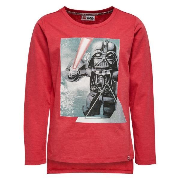 Mädchen Langarm-Shirt Lego Star Wars rot Gr. 110 - 152