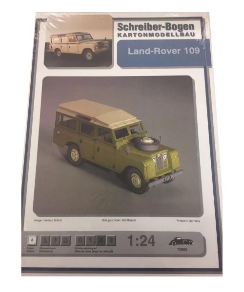 Schreiber-Bogen Kartonmodellbau Land-Rover 109