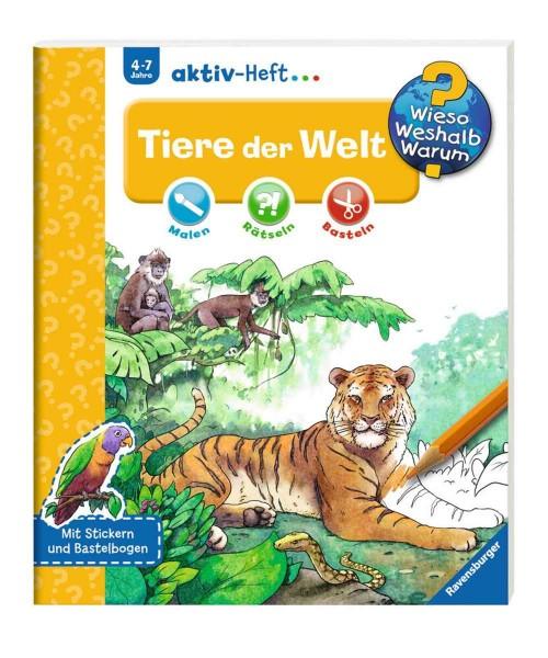 Ravensburger Wieso Weshalb Warum? aktiv-Heft Tiere der Welt