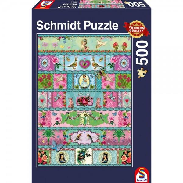 Schmidt Spiele Puzzle 500 Teile Paradies-Banderolen
