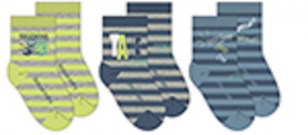 Bóboli Jungen Socken 3er Pack gestreift Gr. 16-27