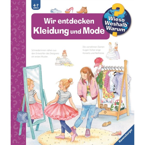 Ravensburger Wieso Weshalb Warum? Wir entdecken Kleidung und Mode