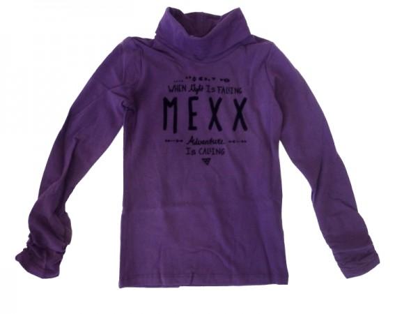 MEXX Mädchen Kinder Rollkragen-Langarmshirt blackberry cordial Gr. 98 - 152