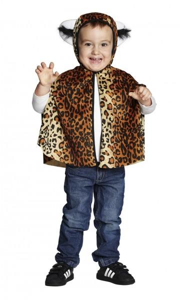 Rubies Kinderkostüm Leoparden Cape
