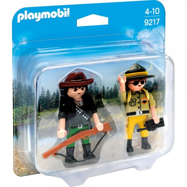 Playmobil® Duo Pack Ranger und Wilddieb 9217