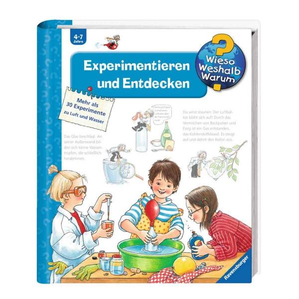 Ravensburger Kinderbuch Wieso Weshalb Warum? Experimentieren und Entdecken