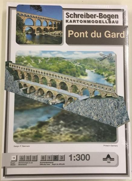 Schreiber-Bogen Kartonmodellbau Pont du Gard