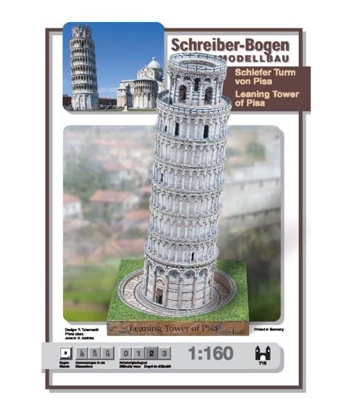 Schreiber-Bogen Kartonmodellbau Schiefer Turm von Pisa