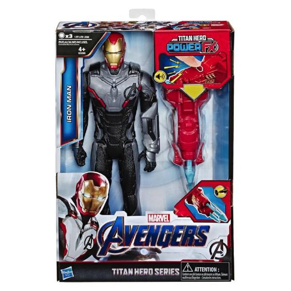 Hasbro Marvel Avengers Titan Hero PowerFX Spielfigur Iron Man