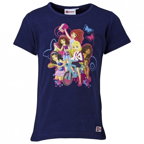 LEGO WEAR Mädchen T-Shirt LEGO FRIENDS Theodora 402 Gr. 104 - 152