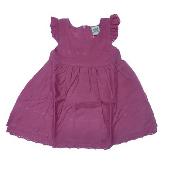 KINDERIT - Mädchen Kleid mit Flügelarm Gr. 56 - 86