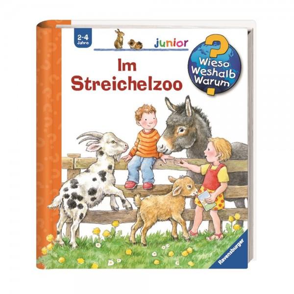 Ravensburger Wieso Weshalb Warum? Junior Im Steichelzoo (Band 35)