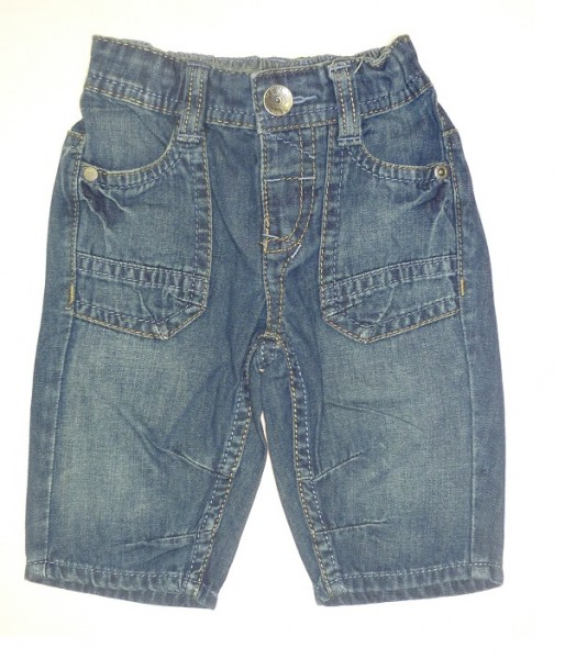 MEXX Jungen Kinder 3/4-Jeans blau demin Gr. 74 - 92