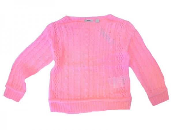 MEXX Mädchen Kinder Pullover fluo candy Gr. 98 - 152
