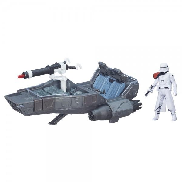 Hasbro Star Wars E7 Class II Fahrzeug 1st Order Snowspeeder B3673