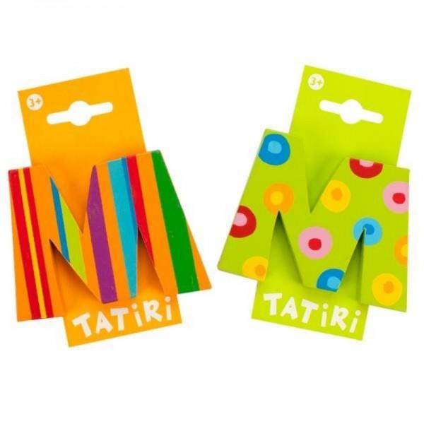 Tatiri Holzbuchstabe M