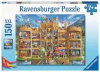 Ravensburger Kinder Puzzle XXL 150 Teile Blick in die Ritterburg