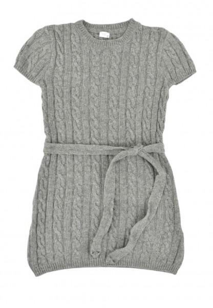 Königsmühle - Mädchen Strick-Kleid softgrey Gr. 104 - 140