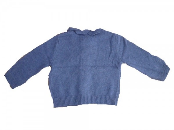 RIVER WOODS - Kinder Mädchen Strickjacke navy Gr. 74 - 110