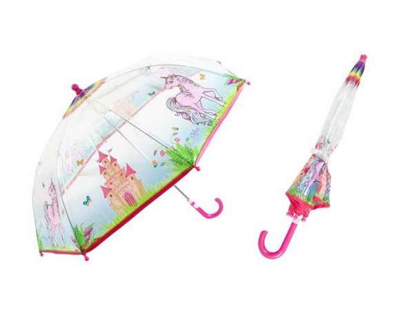 Kinder Regenschirm Chilai transparent