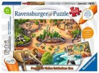 Ravensburger tiptoi Puzzle 2 x 12 Teile Zoo