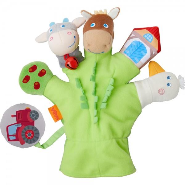 Haba Spielhandschuh Bauernhof