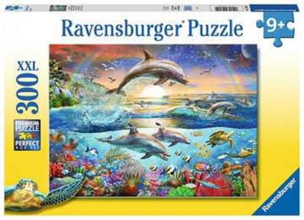 Ravensburger Kinder Puzzle XXL 300 Teile Delfinparadies