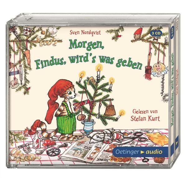 Kinder-CD Morgen, Findus, wird's was geben (3 CDs)