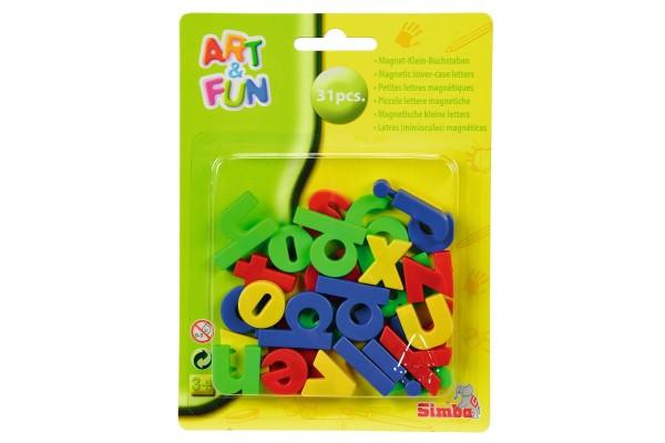 Art&Fun Magnete Kleinbuchstaben