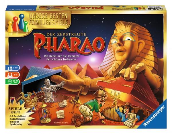 Ravensburger Familienspiel Der zerstreute Pharao