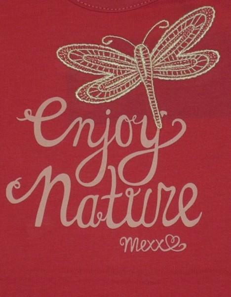 MEXX - Kinder Langarmshirt rosa (cerise) - Mädchen Gr. 74 - 92