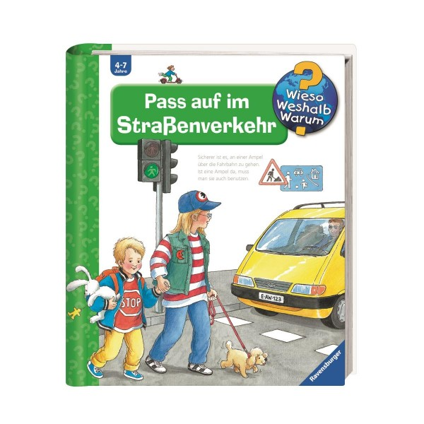 Ravensburger Wieso Weshalb Warum? Pass auf im Straßenverkehr (Band 5)