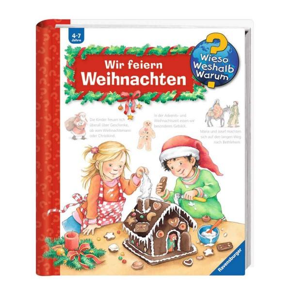 Ravensburger Kinderbuch Wieso Weshalb Warum? Wir feiern Weihnachten