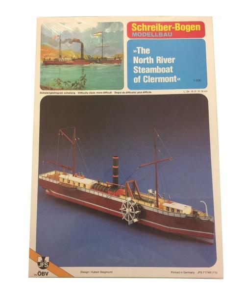 Schreiber-Bogen Kartonmodellbau The North River Steamboat of Clermont