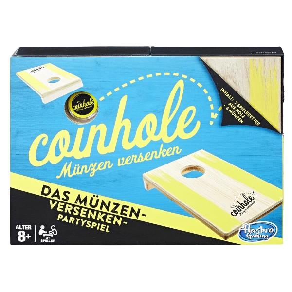 Hasbro Spiel Coinhole - Münzen versenken