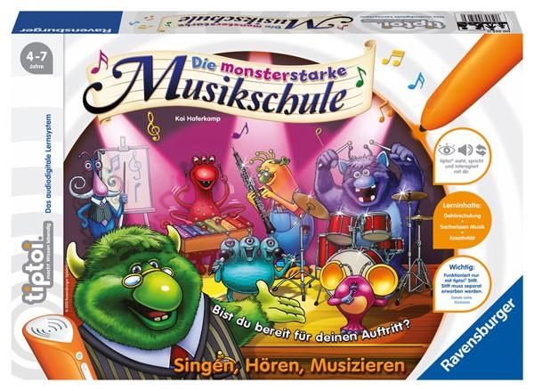 RAVENSBURGER tiptoi® Die monsterstarke Musikschule
