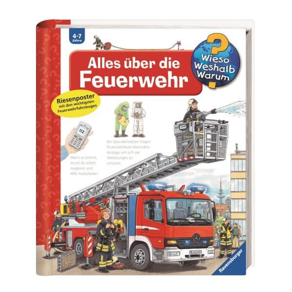 Ravensburger Wieso Weshalb Warum? Alles über die Feuerwehr (Band 2)