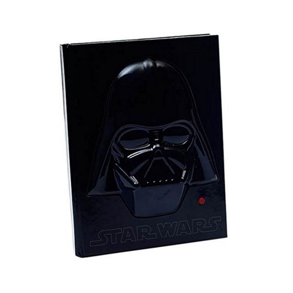 Disney Star Wars Darth Vader Notizbuch mit Sound