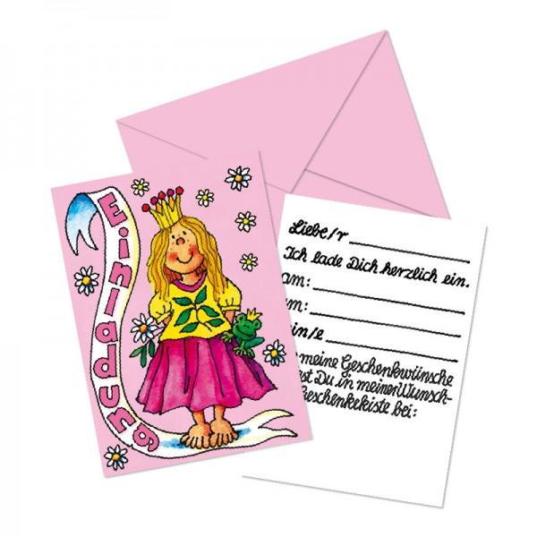 LUTZ MAUDER Kindergeburtstag Geschenkekisten-Karte Prinzessin
